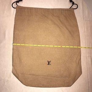 Authentic Louis Vuitton Purse Dust Bag Cover